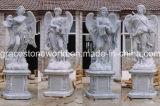 De God van de vier seizoenen, het Marmeren, Marmeren Beeldhouwwerk van de Steen (gs-005)
