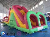 Castelo inflável LG9065 do Bouncer do tema de Mcdonald do projeto da água dos Cocos