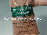 Mop del cloruro del potassio del fertilizzante, KCl, Muriate di potassa