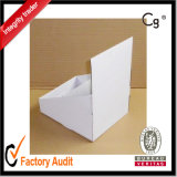 Rectángulo de papel acanalado blanco de la alta calidad de encargo al por mayor, rectángulo del cartón, rectángulo de regalo, caja de presentación, rectángulo de empaquetado