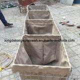 Caixas de gabion soldadas galvanizadas com molas quentes