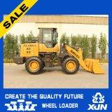 1,8 Ton / 0.9m3 de ruedas pequeño cargador minicargadores para la venta