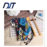 タケ箸、テーブルウェアのための小さい綿のドローストリング袋