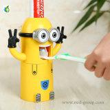 Novo presente inovador para crianças, o melhor presente Minions, dentífrico, dispensador de escova de dentes, fornecedor de China