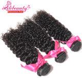 Человеческие волосы 100% Remy девственницы надкожицы глубокие курчавые малайзийские