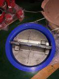 A válvula de verificação Ductile da bolacha do ferro com ISO do Ce aprova