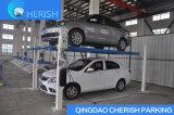 Подъем стоянкы автомобилей автомобиля столба 4 совершенного цилиндра качества одиночного гидровлический