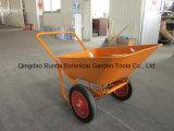 타이란드 좋은 기능 Struction 덤프 외바퀴 손수레 (WB6210)