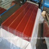 Lamiera sottile del tetto del ferro ondulato di PPGI