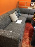 Tissu de toile de tissu de meubles de tissu tissé par polyester (R016)