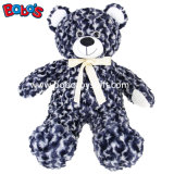 O ursinho de pelúcia do bebê mais macio com fita seja presente promocional