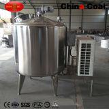 Réservoir de stockage à base de lait en vrac à l'acier inoxydable