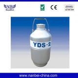 Tieftemperaturspeicher-Becken-kleiner flüssiger Stickstoff-Behälter