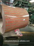 Stahl des Qualitäts-doppelter Farben-roten Ziegelstein-PPGI in den Ringen