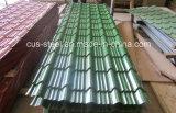 Hoja de techo de perfil prepintado / PPGI Step Roof Tile