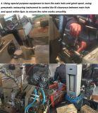 Válvula 153 de giro para o auto descarregador com controle hidráulico da alavanca