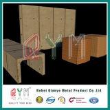 Hesco Sperre galvanisierte geschweißter und Belüftung-überzogener Gabion Box/PVC überzogener Gabion Kasten
