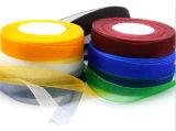 Изготовленный на заказ тесемка Organza смычка женское бельё связанная проволокой тесемкой шифоновая