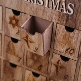 خشبيّة [كريمستمس] منزل قدوم تقويم في مخزون