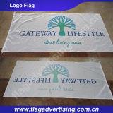 Fabricante da bandeira feita sob encomenda da alta qualidade, anunciando a impressão da bandeira