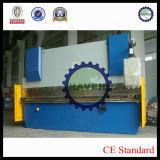 Placa usada maquinaria de dobra hidráulica do ferro da curvatura do metal de folha do CNC inoxidável