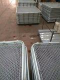 Гальванизированная & PVC Coated звена цепи загородка, ячеистая сеть 50X50m диаманта