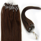 Brazilian Micro Loop Ring Hair Extensions Brazilian Virgin Hair Straight 100g / S Livraison gratuite Soft Brazilian Hair