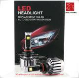 Farol 9007 de Luz LED com Ventiladores