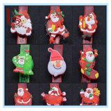 크리스마스 발광 팔찌 또는 소매끝 또는 빛난 손 반지