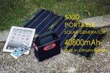 Gerador de energia solar multifunções com gerador solar móvel para emergência