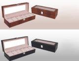 Модная коробка вахты PU Croco, 6 шлицев коробки индикации вахты, популярной коробки вахты внешней торговли для людей