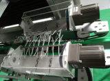 Máquina de etiquetado de alta velocidad de la funda del encogimiento del doble del animal doméstico del PVC