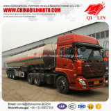 Алюминиевый сплав 40000 литров трейлера нефтяного танкера для бензоколонки