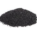 Schwarze Gummikörnchen für Plastiklaufbahn/Spielplatz