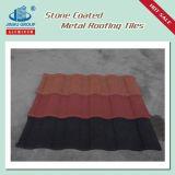 Azulejo de material para techos revestido del metal de la nueva de construcción piedra de los materiales