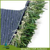 Anti-UV exterior del material del PE artificial del jardín del paisaje del césped con precio de fábrica