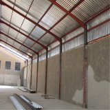 Constructions en acier d'économie matérielle en acier avec le mur de briques