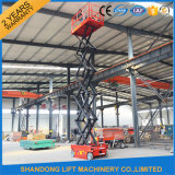 6m 각자 Propelled Scissor Lift Aerial Work Platform