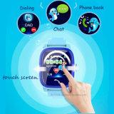 다채로운 접촉 스크린 (D25)를 가진 방수 아이 GPS 추적자 시계