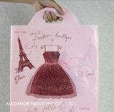 LDPE New Design Fashion Plastic Soft Loop Handle Bag para sapatos / roupas