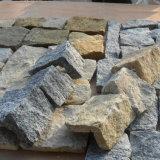 고급 금 사암 더미 돌 실내 벽 (SMC-FS038)