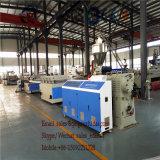 Linha de produção decorativa máquina do painel da placa da espuma do PVC do painel de parede do tapume do PVC