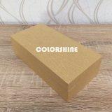 Bijou de Topmarket en bois comme la boîte-cadeau de papier jaune d'étalage d'emballage