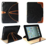 Ultra PU Leather Smart Cover de Slim Magnetic para el iPad 2/3/4 de Apple