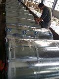 (0.125mm-0.8m m) Bobina de acero galvanizada con precios de fábrica, acero del material para techos de Dx51d