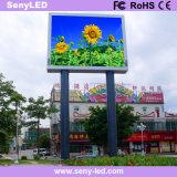 Tarjeta a todo color al aire libre de la visualización electrónica del LED