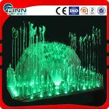 Conception extérieure légère de fontaine de musique de décoration de l'acier inoxydable LED