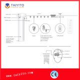 Cortina elétrica de Taiyito motorizada automaticamente e manual com controlador remoto