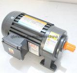 Horizontaler Feuergebührentyp Aluminium/Stahlgehäuse-3-phasiger (Bremse) übersetzter Motor
