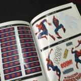 얇은 표지, 풀 컬러 오프셋 인쇄 아동 도서,